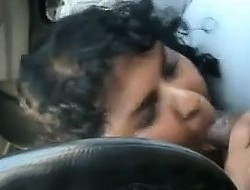 Fat Indian Engulfing On A Cock In The Car