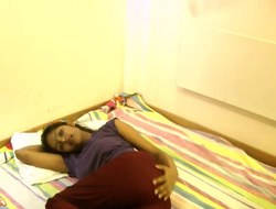 Hawt Divya striptease in bedroom